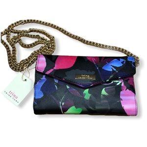 Trina Turk Floral Multicolor Crossbody Bag